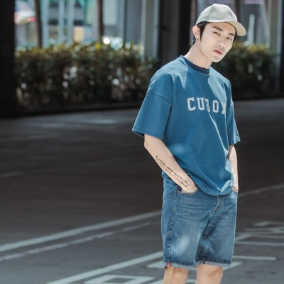 WS03水洗丹寧短褲 WS03 Washed Denim Shorts